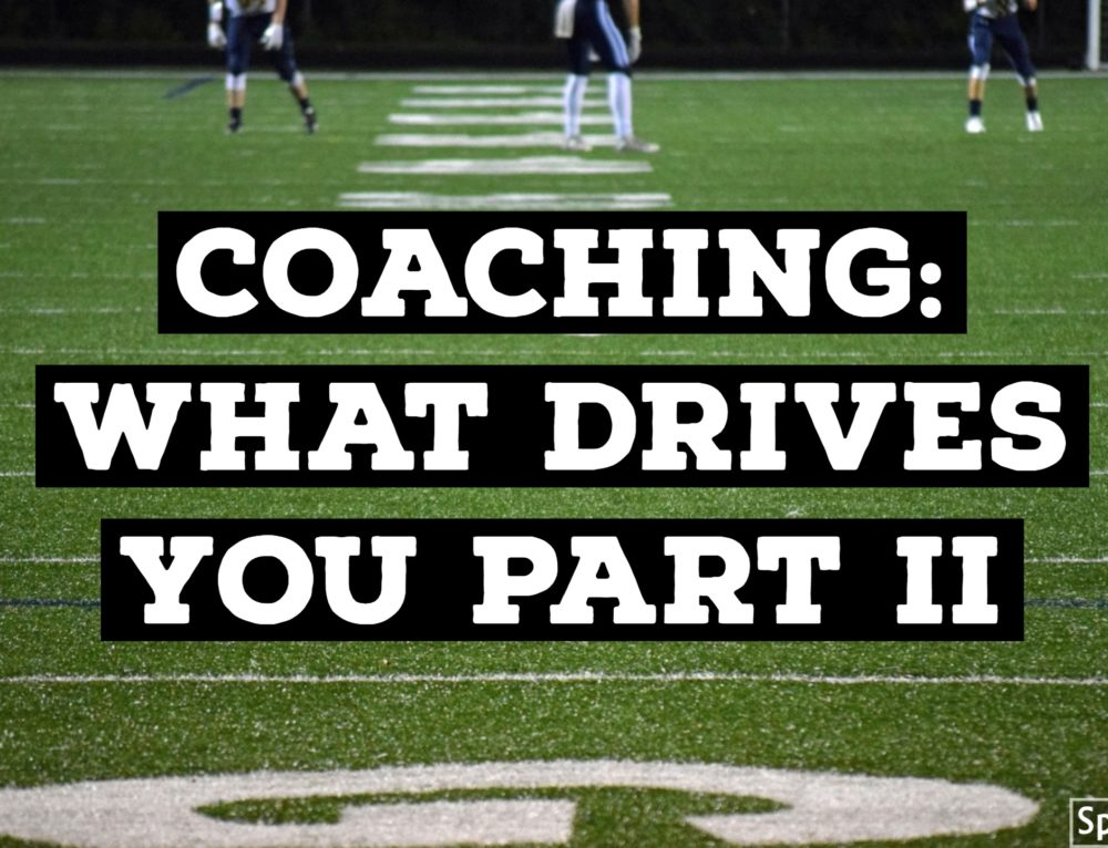 Coaching: What Drives You PART II